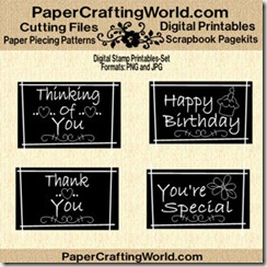 blackboard word art set-ds-325