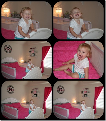 reese and her big girl room