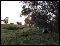 Australia, Last Bush Camp at Ponto Falls, 19  October 2012 (2)