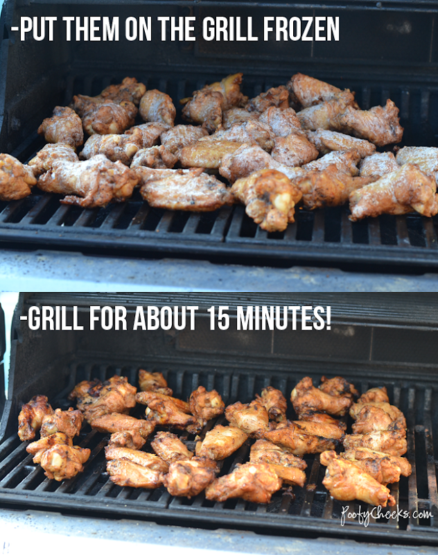 Tyson Grillin' Wings -- Straight from the freezer to the grill!