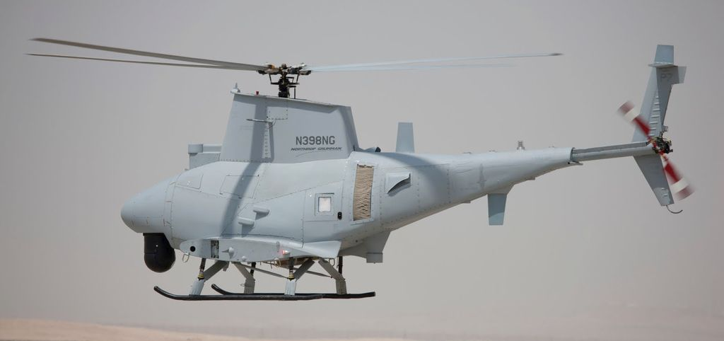 Elicottero Drone Northrop Grumman MQ-8C Fire Scout