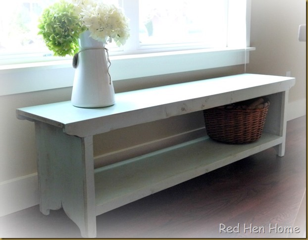 Red Hen Home  Farmhouse Bench
