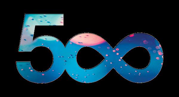 500px logo color
