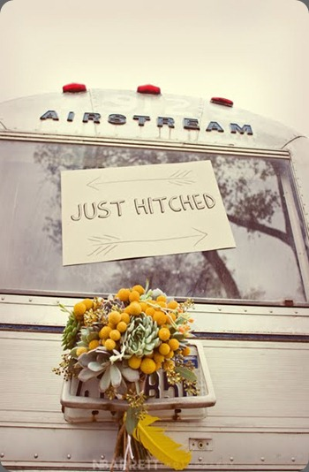 4 airstream wedding  bows and arrows dallas