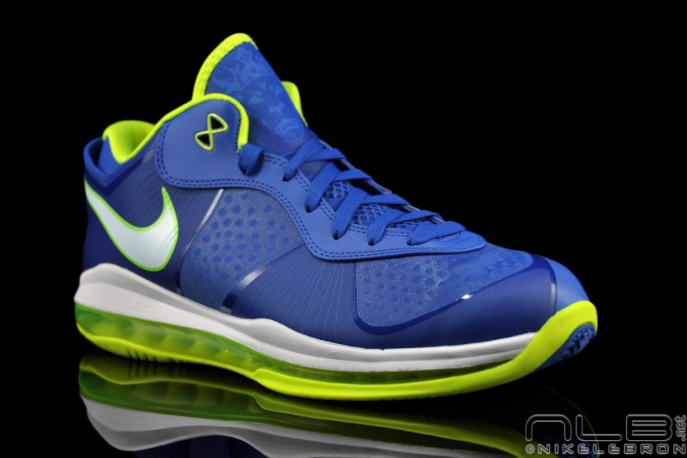 Nike Air Max LeBron 8 V/2 Low ��Sprite�� Detailed Gallery | NIKE