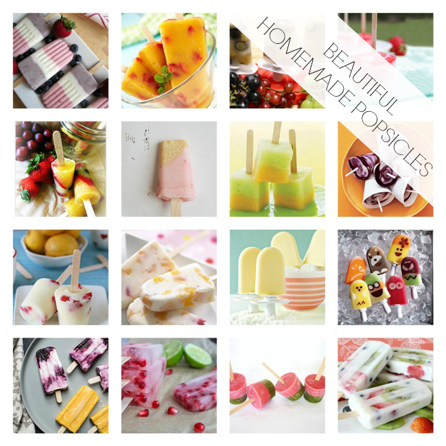 Blog Popsicle Round Up