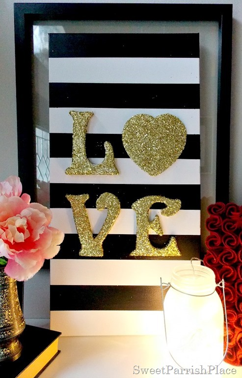 DIY Love Canvas Art7