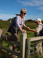 A helping hand over country stile