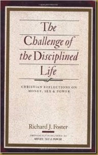 Challenge of disciplined life cover