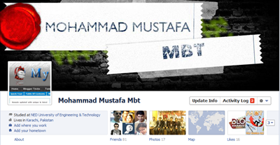 make Facebook timeline cover