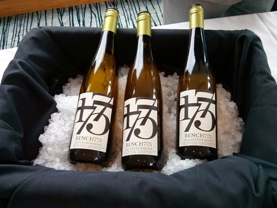 Bench 1775's zippy Gewurztraminer