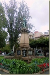 Statue near waterfront Vigo (Small)