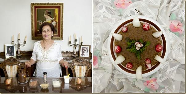 Portraits de grand-mères et leurs plats cuisinés (9)