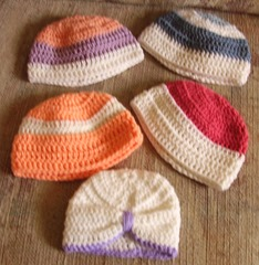 Hats turban and brights