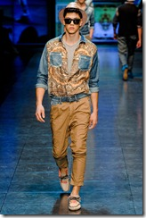 D&G Menswear Spring Summer 2012 Collection Photo 17