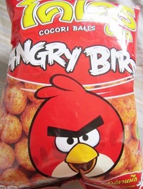 angry birds snack, bitsandtreats