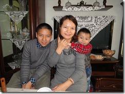Alimjian's family 2013