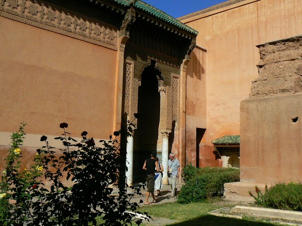 Imagini Marrakech: mormintele Saadiene