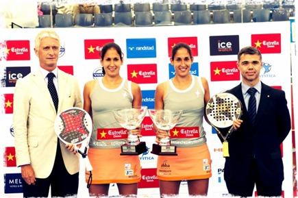 Barcelona WPT 2013: Campeonas gemelas Sánchez Alayeto. Díaz-Belasteguin de nuevo vencedores.