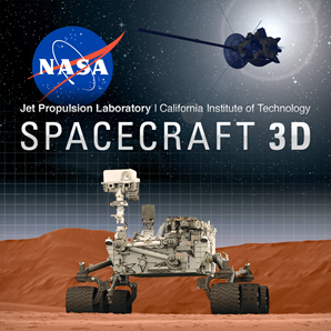 3D Spacecraft Augmented Reality