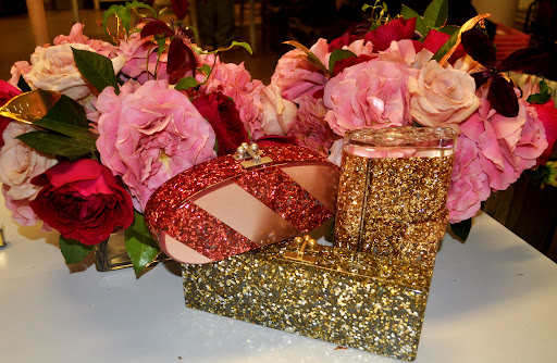 Sparkling statement clutches from Edie Parker. (edie-parker.com)