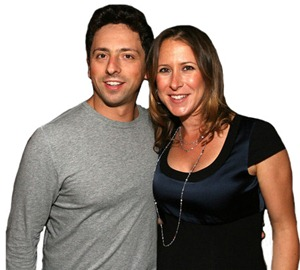 Sergey Brin and Anne Wojcicki