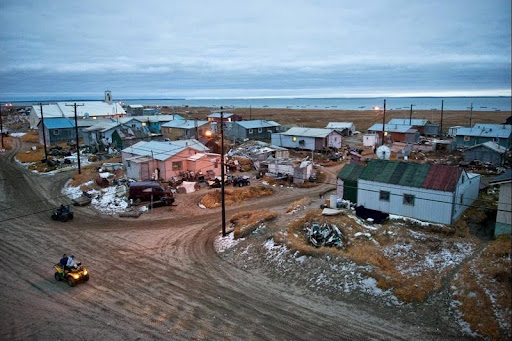 The Eroding Alaskan Village of Shishmaref | Amusing Planet
