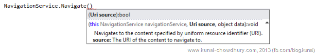 Calling the Windows Phone Navigation Service to pass data object along side page URI