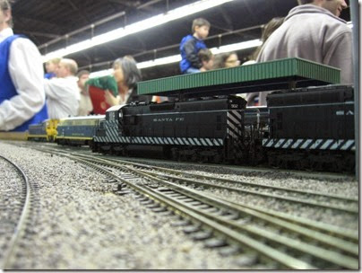 IMG_5385 Atchison, Topeka & Santa Fe SD24 #902 on the LK&R HO-Scale Layout at the WGH Show in Portland, OR on February 17, 2007