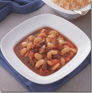 white beans with meat