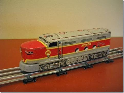 Marx Monon #81 Diesel Locomotive