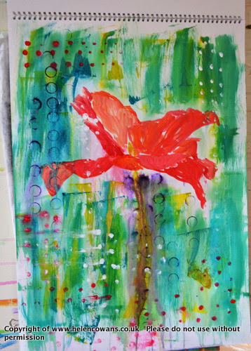 Poppy paint 1