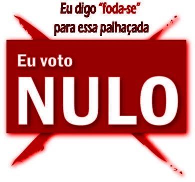 eu voto nulo