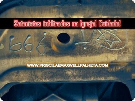 satanistas na igreja - Priscila e Maxwell Palheta