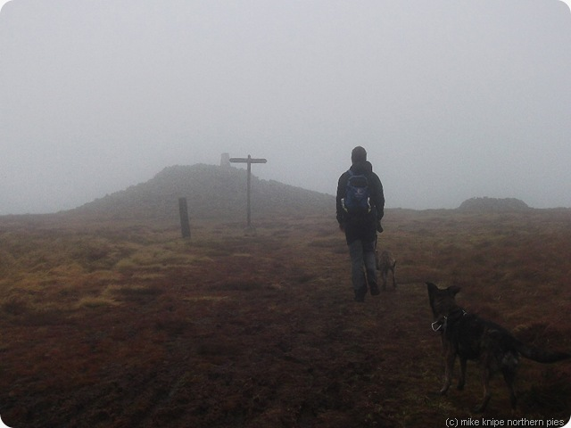 windy gyle summit (in scotland)