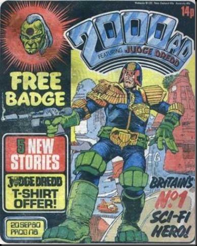 Judge Dredd - 2000 AD