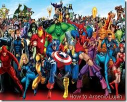 Orden del Universo Marvel por Negativo