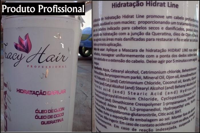 Composição Tracy Hair–Hidrat Line