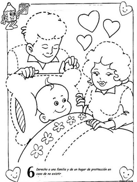 Dibujos día del niño para colorear - Manualidades Infantiles ...