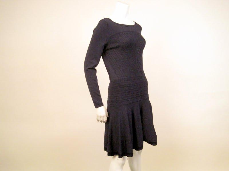 DVF Delta Knit Dress