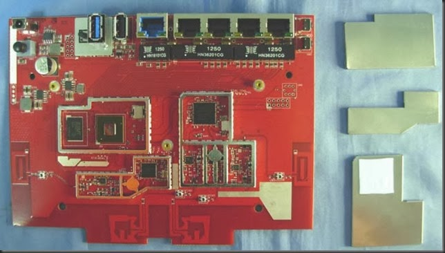 RT-AC56U Board 主機板拆機圖