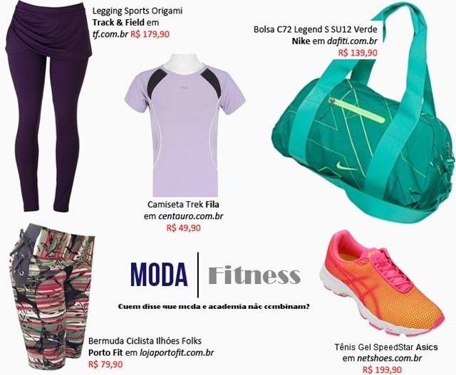 roupa para Academia moda fitness 1