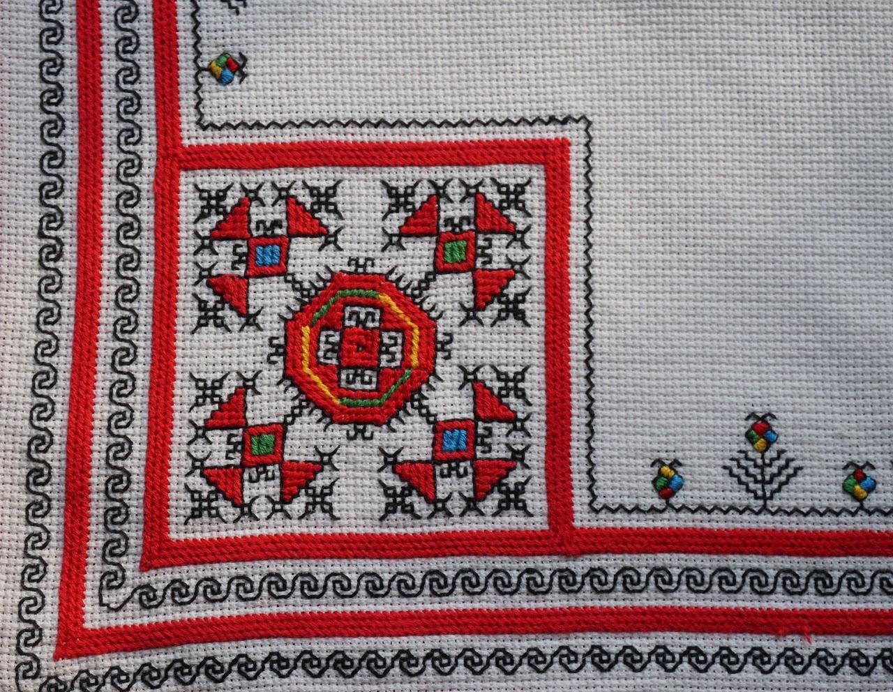Чувашская вышивка узор