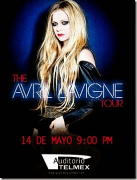 avril lavigne tour 2014 gdl boletos ticketmaster primera fila