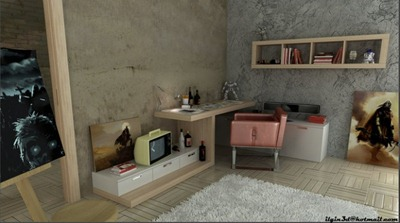 Arbetshörna, Akcalar via Home Designing