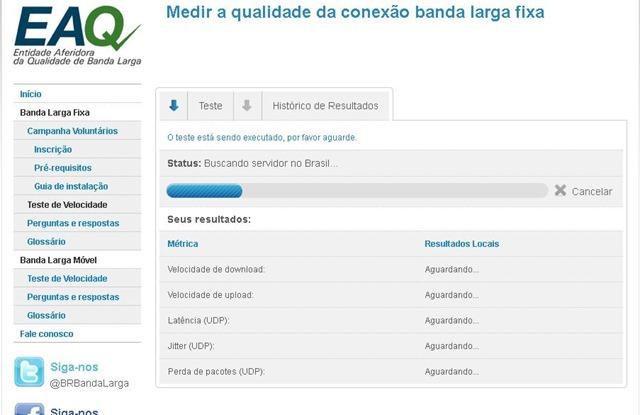 TESTE CONFIÁVEL DE VELOCIDADE DA INTERNET  - BRASIL BANDA LARGA - RECOMENDADO PARA FAZER O TESTE EM SEU VELOX - 2