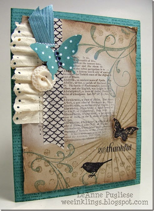 LeAnne Pugliese WeeInklings Dictionary Everything Eleanor Stampin Up