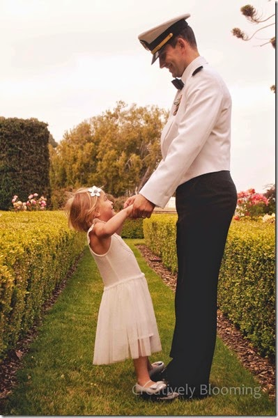 Navy Daddy Daughter Dance
