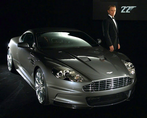 kvantum csendje: Aston Martin DBS