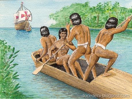 indios encontro portugueses